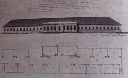 Рижский Военно-сухопутный госпиталь, корпус Демерцова (1809-10 гг.)